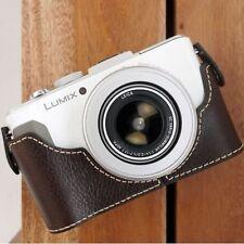 Ciesta CUOIO Fotocamera Case [ Marrone Scuro ] per Panasonic Lumix Lx7