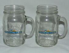 Heartland Farms Mason Jar Glasses (Set of 2) by Anchor Glass 14 Fl Oz (0.41L)