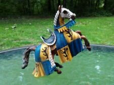 Schleich World Knights Medievel Yellow Dragon Tournament Jousting Reared Horse