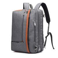 """Laptop Backpack 17""""17.3"""" Nylon PC Travel Knapsack Notebook Bag Case For Mac Dell"""