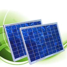 24 Watt SOLAR POWER PANEL PV FOR 12V BATTERY SYSTEM NEW
