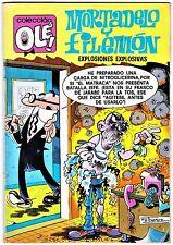 OLÉ! nº 152 MORTADELO Y FILEMÓN: EXPLOSIONES EXPLOSIVAS 3ª ed., Bruguera, 1982