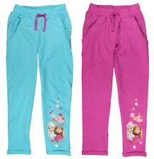 Girls Disney Frozen Trousers Jogging Tracksuit Bottoms OFFICIAL Merchandising