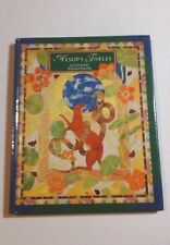 AESOP'S FABLES BOOK Nice Hardcover Easy Reader LEARNING Books AESOP