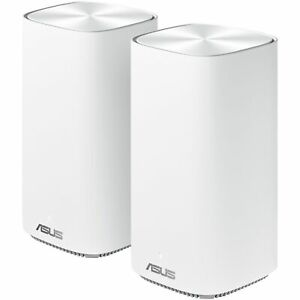 ASUS OEM Dual-Band Whole home Mesh ZEN Wi-Fi System, CD6 2 pack, AC1500, White
