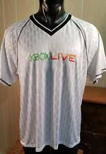 XBOX LIVE White Soccer Jersey dastahl #5 Teamwork Athletic Apparel Sz XL.