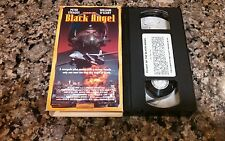 BLACK ANGEL RARE VHS! STAR MAKER 1992 NUCLEAR RENEGADE ACTION! PETER STRAUSS!