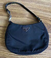 Prada Authentic Black Nylon Mini Bag (Pre-owned)