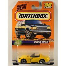 Matchbox 1998 #56 Dodge Viper RT/10, 8.0L V10, Yellow, Super Cars