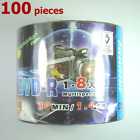 Mini DVD-R 8x 8cm Mini Disc 1.4GB Blank DVD Recordable Discs 1.4 GB - 100 Pieces