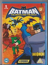 BATMAN THE BRAVE AND THE BOLD VOLUME 2 DVD 4 EPISODES