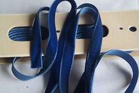"10 yard bolt vtg blue velvet german 5/8"" rayon ribbon trim Millinery doll dress"