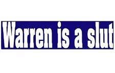 Rare Warren Haynes is a Slut Bumper Sticker Gov't Mule Allman Bros Grateful Dead