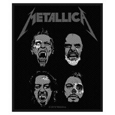 Metallica Black sew-on cloth patch  (mm)