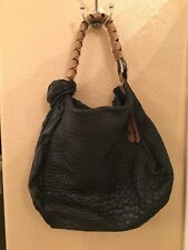19e32446cd Halston Heritage Fashion Hobo shoulder bag black Leather