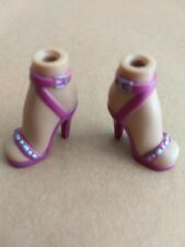 Bratz Girlz Girl Doll Maroon High Heel (Yasmin) Shoes Accessory