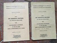 La Marna Lista Delle Monumenti Storici Ministero Sterzo Del Heritage 1980