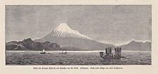 Prinz Heinrich in Japan - Sammlung - 6 Holzstiche - C.Saltzmann 1880
