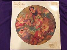 Disney Snow White picture record, signed, Adriana Caselotti, voice of Snow White