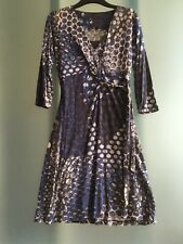 SANDWICH GORGEOUS WRAP DRESS, NEW WITH TAGS, MEDIUM, COST £89