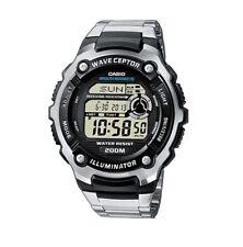 Casio WV-200DE-1A Wave Ceptor Digitale Herren Armbanduhr Edelstahl Armband WV-200