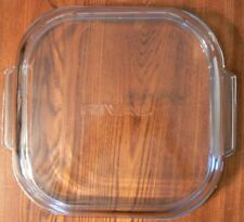 "Used Rival Square 10 7/8"" Square Lid fits 10"" Appliance or Pot"