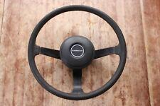 74-76 Datsun 260Z 280Z steering wheel w/horn botton pad OEM used