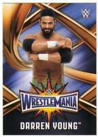 2017 Topps WWE Road to WrestleMania 33 Roster Insert #WMR-38 Darren Young