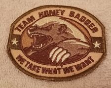 Patch Honey Badger Army ISAF