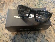 Wiley X Brick Sunglasses - LA Light Adjusting Smoke Grey Lens / Metallic Black F