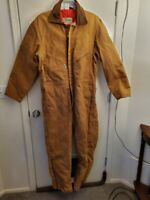 Walls Blizzard Pruf Insulated Coveralls Winter Size XL Reg Brown - New