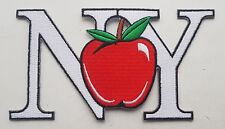 NEW YORK BIG APPLE PATCH Cloth Badge NY Letters United States of America USA