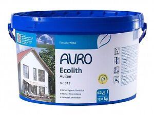 AURO Ecolith Außen-Kalkfarbe 343 - 12,50 L