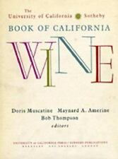 The University of CaliforniaSotheby Book of California Wine-ExLibrary