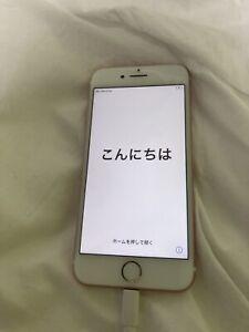 IPhone 7 Apple Sim Free Pink 32GB Japan Used unlock rose gold