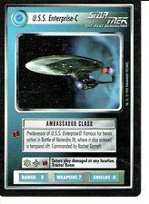 STAR TREK CCG ALTERNATE UNIVERSE RARE CARD U.S.S. ENTERPRISE-C