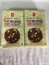 2x Presidents Choice REVERSE DECADENT White Chocolate Chip Cookies Canada