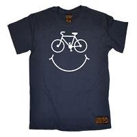 Cycling T-Shirt Funny Novelty Mens tee TShirt - Cycle Smile