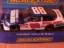 Scalextric Rare C2958 Chevy Impala #88 Nascar Dale Earnhardt Jr NATIONAL GUARD