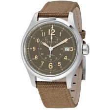 Hamilton Khaki Field Brown Dial Automatic Mens Watch H70305993