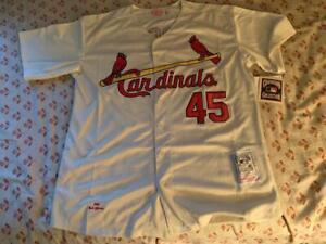 St. Louis Cardinals Jersey #45 Bob Gibson XL