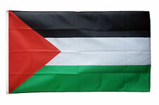 Palestine Flag 5 x 3 FT 100% Polyester With Eyelets National Country IE