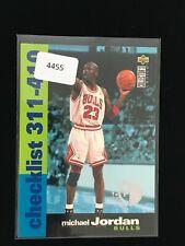 MICHAEL JORDAN 1995-96 UPPER DECK COLLECTORS CHOICE Basketball Card #410