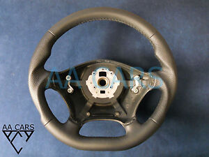 Steering Wheel Mercedes Vito W639 Viano Leather Flat Bottom