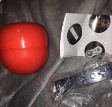 Nintendo Mini Controller Tomy Key Chain - Wii (Black) - Sealed In Plastic- Rare