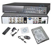 DVR 8CH VIDEOREGISTRATORE DIGITALE REGISTRA HARD DISK 500GB HD VIDEOREGISTRATORE