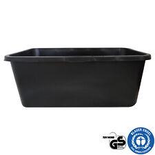 Mörtelkasten Baukübel Mörtelwanne Zementkübel 40 65 80 oder 90 Liter schwarz