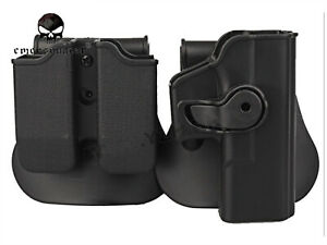Rotary IMI Holster Roto Holster and Double Magazine Holster Fits GLOCK 17/22/31