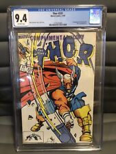 The Mighty Thor 337 1ST APP Beta Ray Bill CGC Graded 9.4 RARE COMPLIMENTARY COPY
