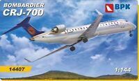 BPK 14407 - 1/144 - Bombardier CRJ-700 Lufthansa Regional Company Model Kit